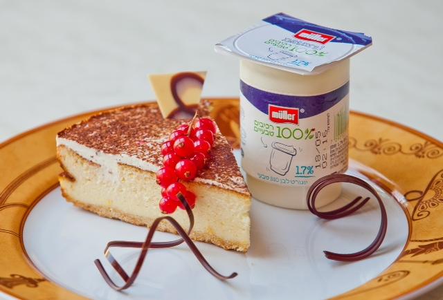 מתכון חגיגי לשבועות: עוגת גבינה אפויה על בסיס יוגורט