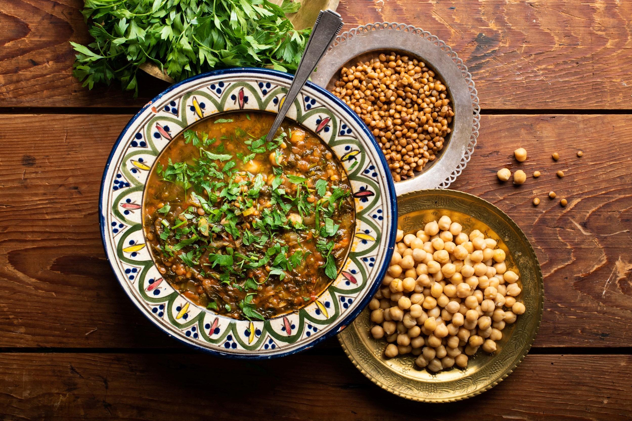 מתכון למרק חרירה מרוקאי 👳🏽