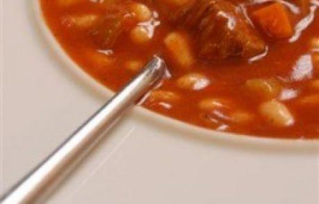 מרק שעועית ובקר