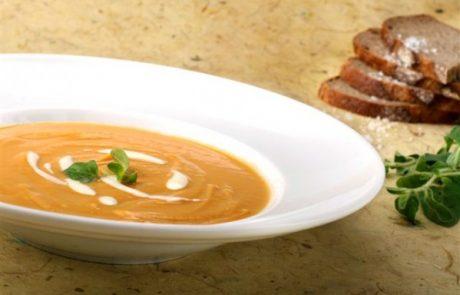 מתכון להכנת מרק בטטה בניחוח קארי