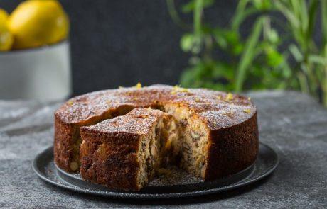 עוגה בחושה עם המון פירות יבשים מאת מיקי שמו וליאון אלקלעי