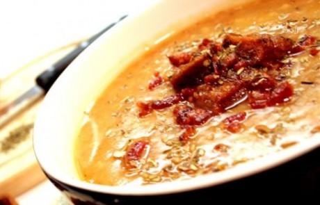 מרק בשר עגל ועלי תרד בנוסח איטלקי