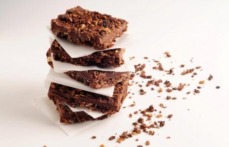 מתכון לחיתוכיות גרנולה שוקולד בוטנים