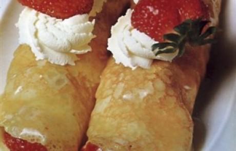מתכון להכנת פנקייק במילוי תותים