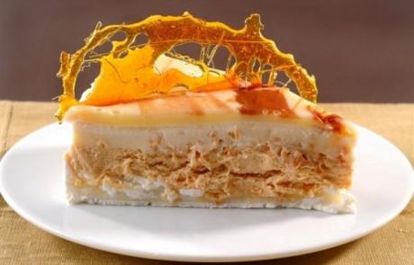 עוגת מוס מסקרפונה קרמל
