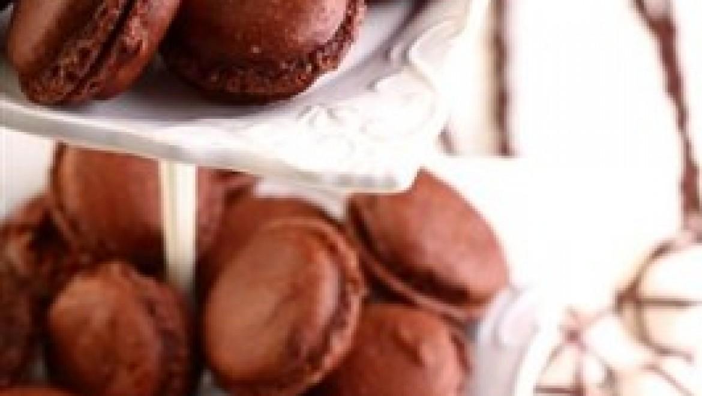 עוגייה קלאסית לפסח: מקרון שוקולד