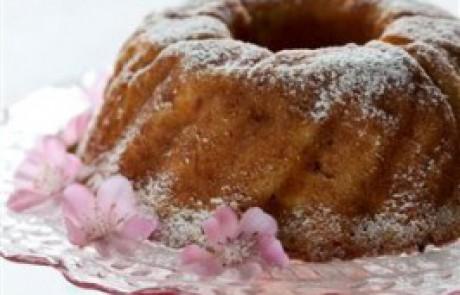 מתכון לראש השנה: עוגת ריקוטה פרסקה ותפוחי-עץ מתובלים