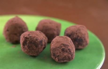 טראפלס שוקולד עם צ'ילי דורות
