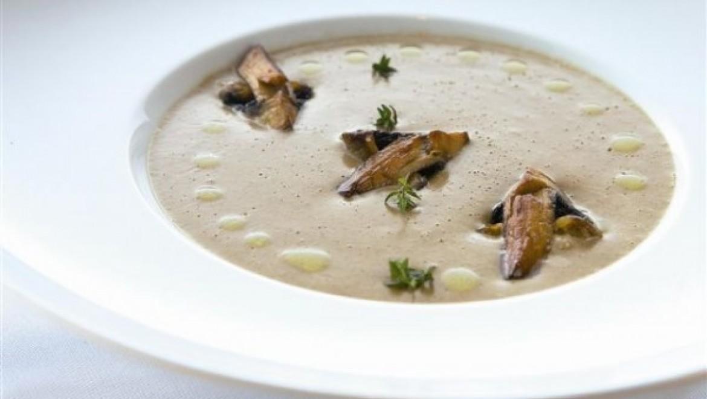 מרק שמנת ופטריות