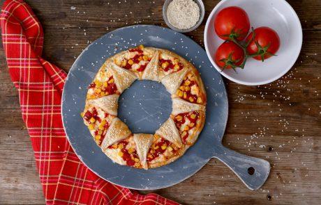 מתכון לפיצה שמש עם תחתית מלאווח