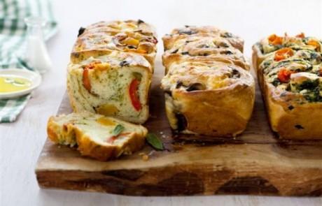 שנק בריוש גבינות ואנטיפסטי