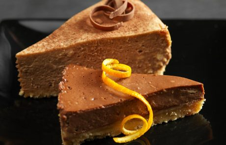 מתכון משובח לעוגת גבינה בשילוב שוקולד תפוז