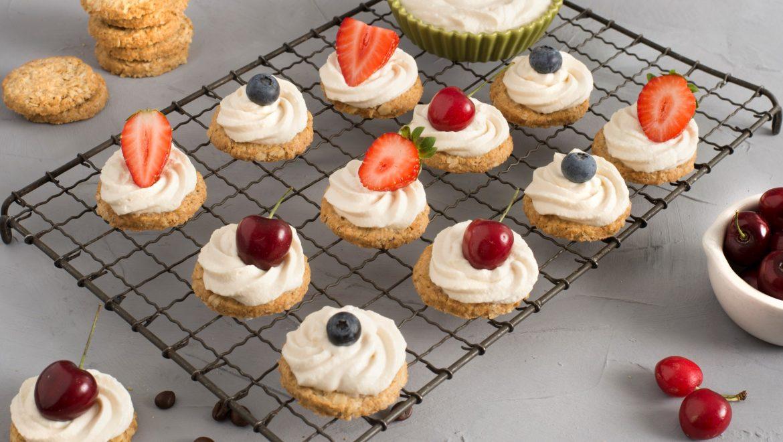 עוגיות cookies ופירות יער