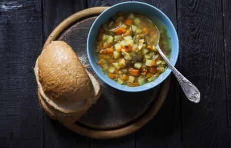 מרק ירקות עם גריסים