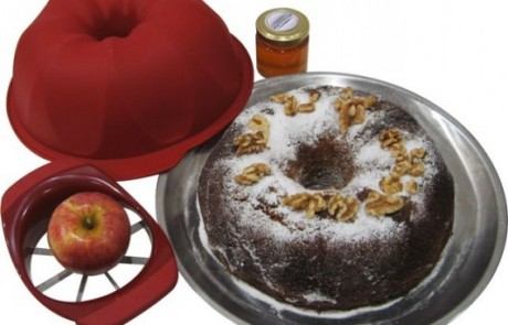 מתכון לראש השנה: עוגת דבש תפוחים ואגוזים