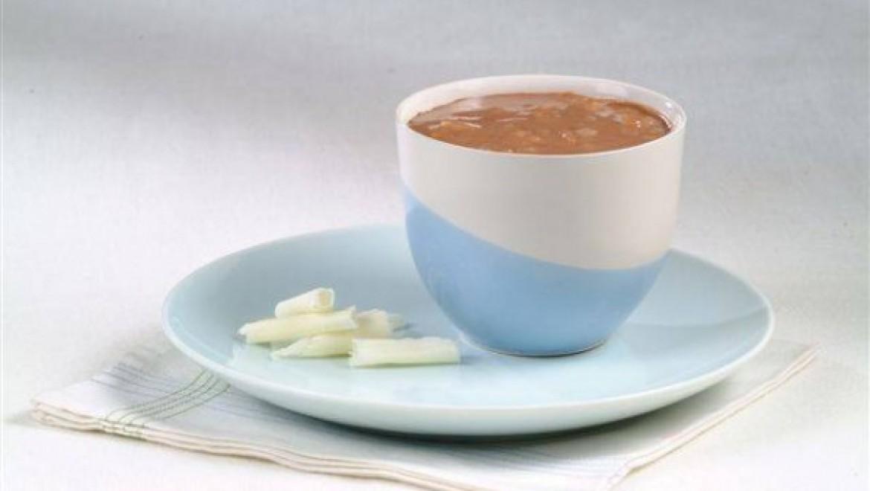 מעדן טעים ומשגע: מעדן אורז עם שוקולד חם