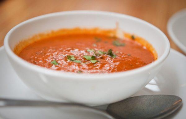 מרק עגבניות עשיר עם אורז 🍅🍵