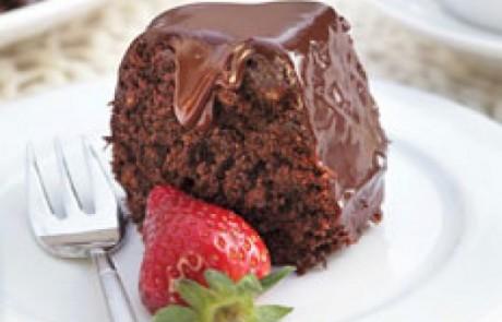 עוגת שוקולד עשירה