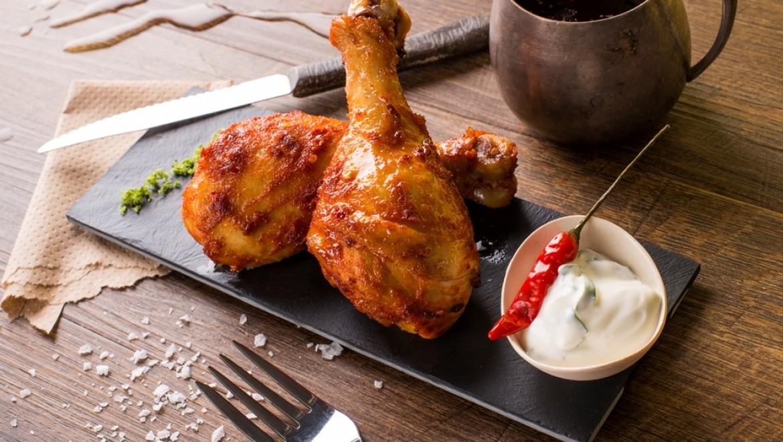 מתכון בשרי: שוק עוף במרינדת חרדל
